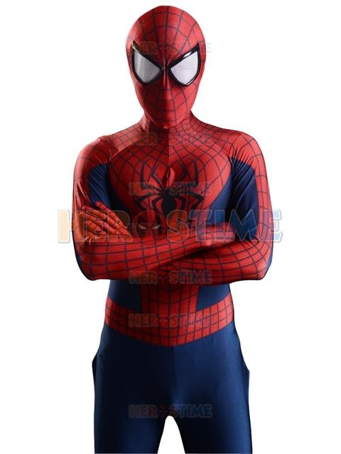 2015 Impresión 3D Nuevo The Amazing Spider-man 2 Superhero Traje Fullbody spandex spiderman traje de halloween envío gratis