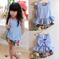 Summer Children's Clothing Girl Clothes Sets Brand Infant Party Set For Toddler Girl Clothing Sets Kids Outfits Two-pieces Suits