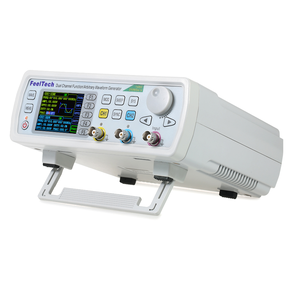 Generatore di segnale digitale Funzione di generatore di funzioni DDS Dual-channel 250MSa/s 14 bit generatore di frequenza 60 MHzGeneratore di segnale digitale Funzione di generatore di funzioni DDS Dual-channel 250MSa/s 14 bit generatore di frequenza 60 MHz