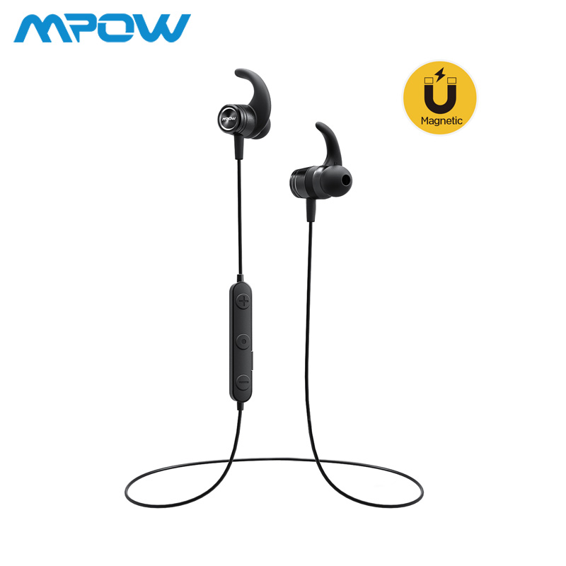 Mpow S10 In-Ear Earphone Sports Bluetooth 4.1 IPX7 Waterproof Magnetic Earbuds 8H Playing Time Headphones For iPhone Xiaomi SONYMpow S10 In-Ear Earphone Sports Bluetooth 4.1 IPX7 Waterproof Magnetic Earbuds 8H Playing Time Headphones For iPhone Xiaomi SONY