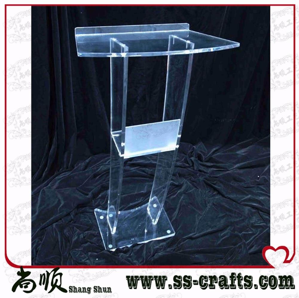 High Soundness Modern Design Cheap Clear Acrylic LecternHigh Soundness Modern Design Cheap Clear Acrylic Lectern
