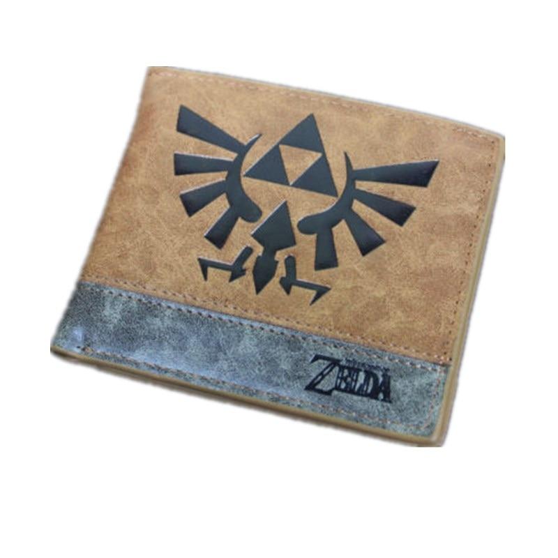 New Game Zelda Bifold Wallet Leather PU Coin Purse Zelda Skyward Sword Men Short Wallets Card Holder черепаха плетёная zelda