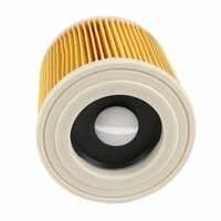 TOP qualität ersatz luft staub filter taschen für Karcher Staubsauger teile Patrone HEPA-Filter WD2250 WD3.200 MV2 MV3 W