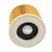 цена на TOP quality replacement air dust filters bags for Karcher Vacuum Cleaners parts Cartridge HEPA Filter WD2250 WD3.200 MV2 MV3 W