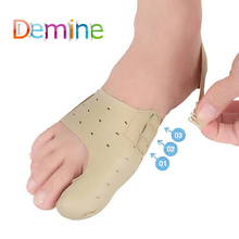 Demine Elastic Hallux Valgus Insole for Big Bone Toes Orthopedic Foot Pads Straightener Orthotic Protector Insert Insoles Pad