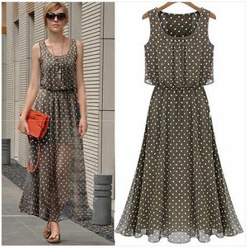 Online Get Cheap Chiffon Dresses Casual -Aliexpress.com | Alibaba ...