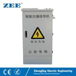 48 salidas LED controlador de luz de tráfico 220 V controlador de señal de tráfico Control remoto de red Control de tráfico