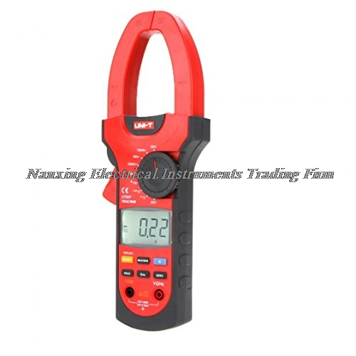 UNI-T UT207 True RMS 6600 Count AC/DC Current Voltage Resistance Frequency Digital Clamp Multimeters W/ LCD Backlight
