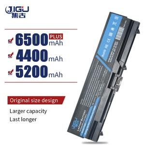 Image 1 - JIGU 6 เซลล์แบตเตอรี่แล็ปท็อปสำหรับLenovo ThinkPad W520 L400 L410 L420 L500 L510 L520 SL400 SL410 SL500 SL510 T410 t420