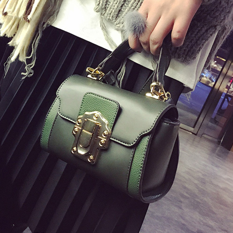 Fashion New Women Bag 2017 PU Leather Bag Ladies Handbag Females Shoulder Bag Designer Brands Tote bag Bolsas Feminina