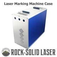 Máquina de marcado láser de fibra portátil caja de marcador de gabinete 1064nm piezas de bricolaje para IPG Raycus Max fuente láser/generador al por mayor