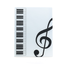 80 Sheets A4 Music Book Folders Piano Score Band Choral Insert-type Folder Supplies Waterproof File Storage Product