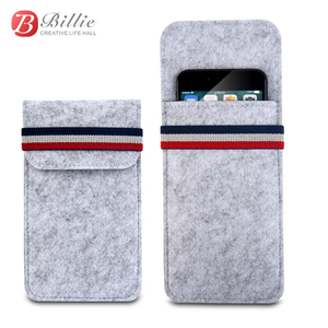 """Image 2 - For Apple iphone 6 6s 7 8 4.7""""Ultra thin Handmade Wool Felt phone Sleeve Cover For iphone 6 6s 7 8 plus 5.5"""" Bumper Phone Bag"""