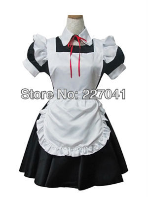 Sweet Lolita maid anime clothes Halloween cosplay costume dress A0168