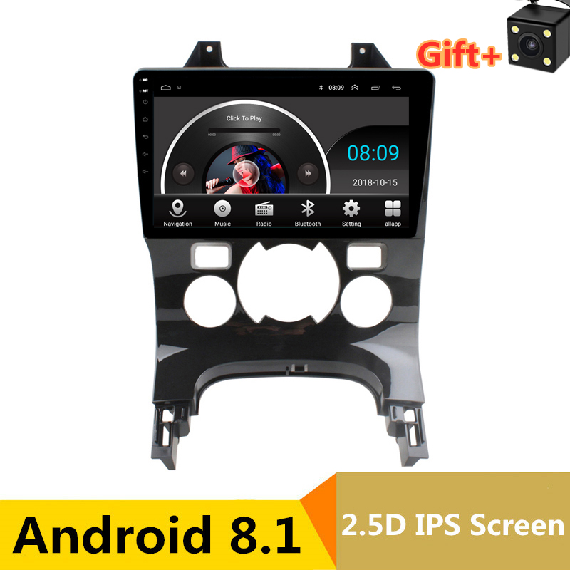 "9"" 2.5D IPS screen Car DVD GPS For Peugeot 3008 audio car radio stereo navigator headunit tape recorder Bluetooth wifi built in"