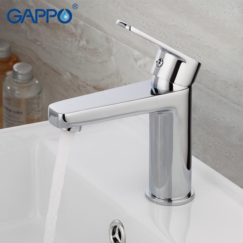 GAPPO water mixer bathroom basin sink faucet brass bathroom mixer taps modern bathroom faucet chrome basin mixer tap G1098D