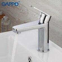 GAPPO water mixer bathroom basin sink faucet brass taps modern chrome tap G1098D