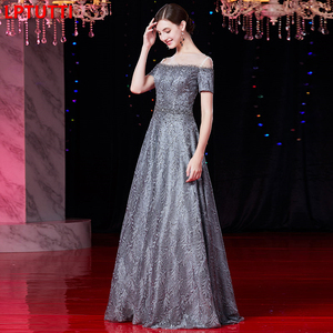 Image 4 - LPTUTTI cristal bordado nuevo para las mujeres elegante fecha ceremonia fiesta vestido Formal de Gala de lujo vestidos de noche