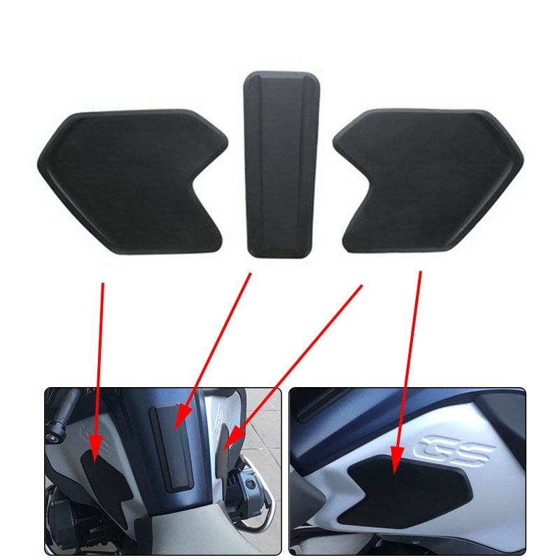 MTCLUB Brand New Tank Pad Protective Anti slip Pads Specially designed For BMW R1200GS LC Adventure ADV 2014 2015 2016 2017 2018
