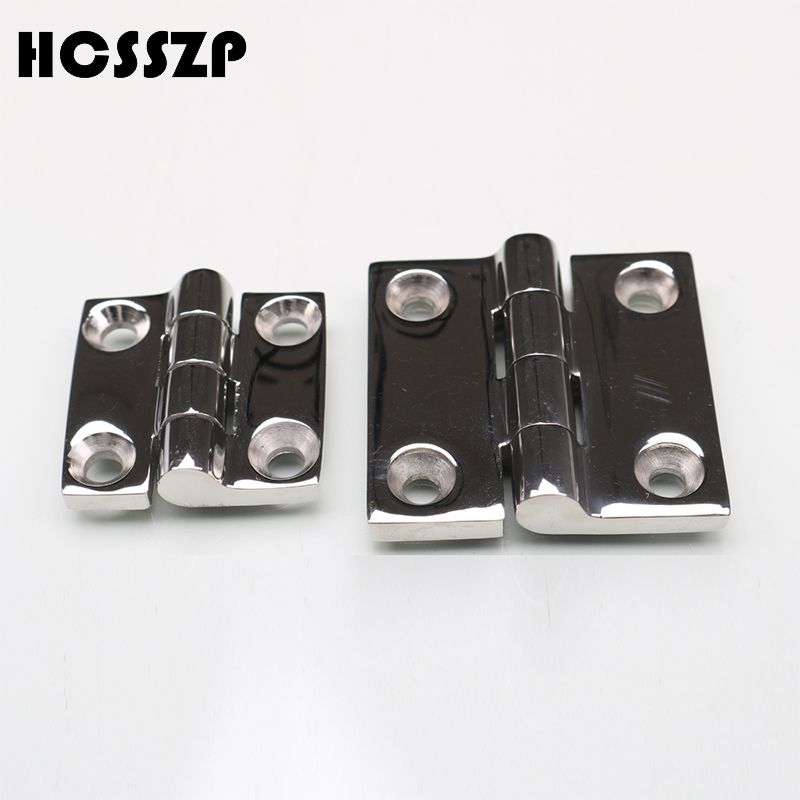 HCSSZP 2 Pcs Heavy Duty 316 marine grade 38*38 50*50mm cast Boat Caravan RV Deck Cabinet Drawer Door Strap Butt Hinge HardwareHCSSZP 2 Pcs Heavy Duty 316 marine grade 38*38 50*50mm cast Boat Caravan RV Deck Cabinet Drawer Door Strap Butt Hinge Hardware