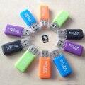 Ayuda de la venta caliente usb 2.0 lector de tarjetas de alta velocidad de memoria sd micro tf adaptador de color al azar