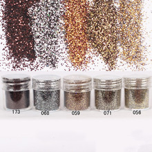 1 Box Nail Glitter Brown Coffee Glitter Powder Sheets Tips Design Nail Art Decoration Nail Art Glitter 8187609