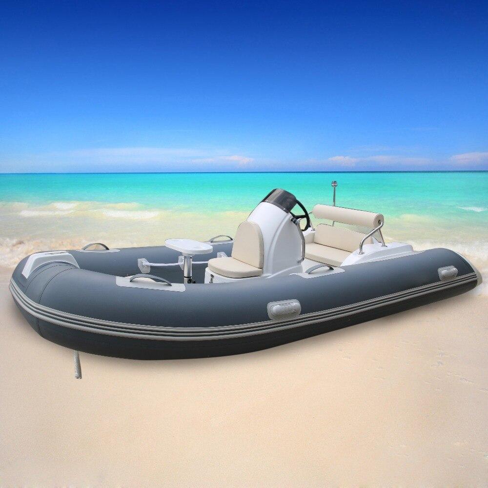 Free Sea Shipping RIB390C Goethe Factory Direct Sale Rigid Inflatable Boat Fiberglass Boat 1