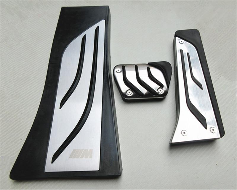 Автомобильные аксессуары алюминиевые автомобильные педали для BMW X5.X6 на педаль акселератора педаль тормоза Подножка педаль