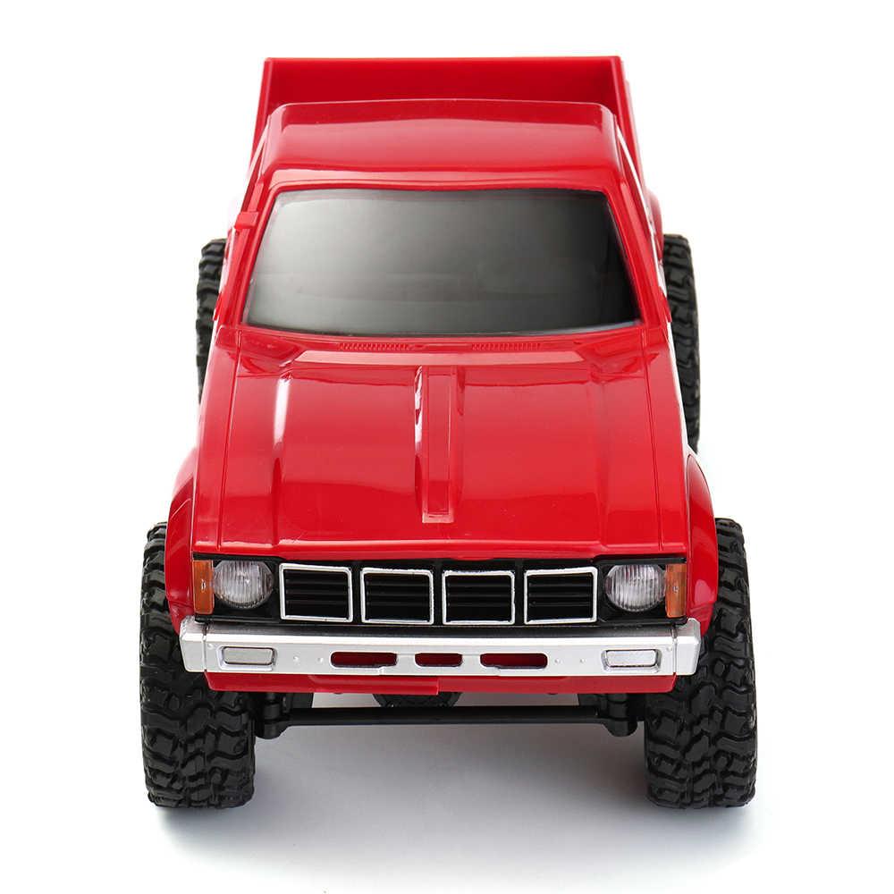 2018 Nieuwe WPL C-24 1/16 4WD 2.4G Militaire Truck Buggy Crawler Off Road RC Auto 2CH RTR Speelgoed Kit zonder Elektrische Onderdelen DIY RC Model