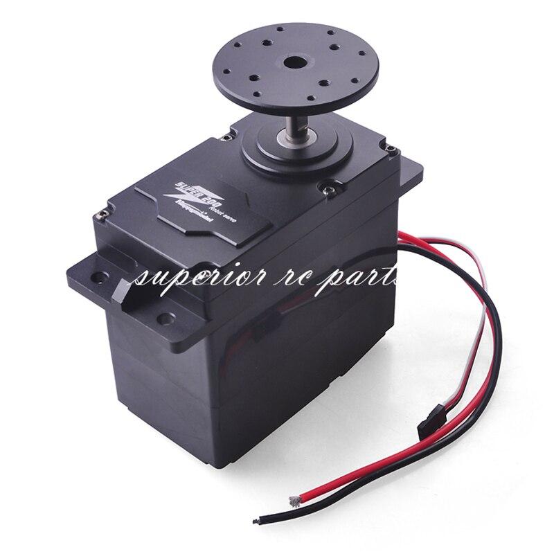 SUPER200 300 500 Servo en métal à couple élevé 12 24V 200kg. cm/300kg. cm 0.5 S/60 degrés BEC 5V pour bricolage grand bras Robot GSX
