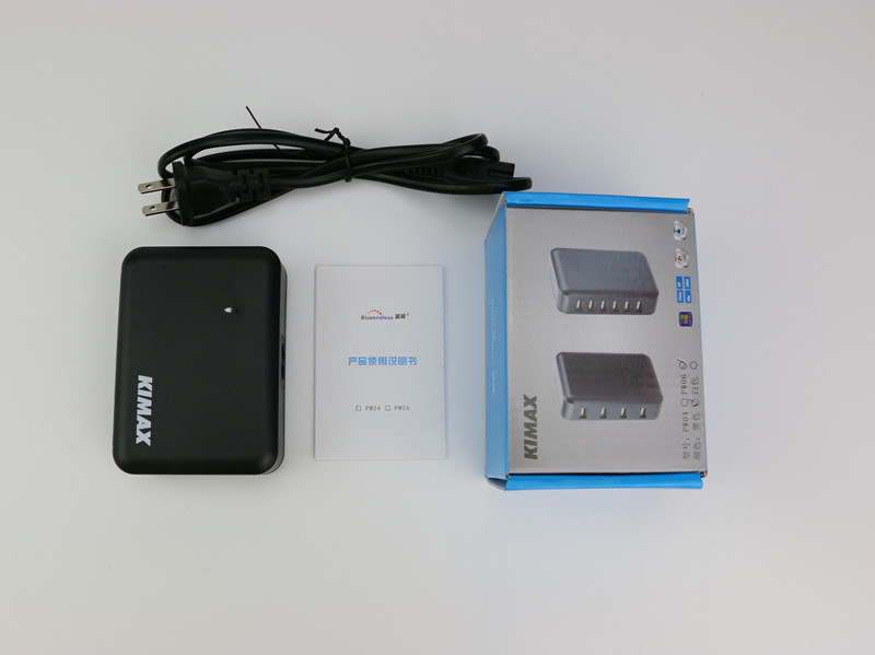 USB 2.0 Output 5V 1A 2A Input AC 100-240V 6 Poorten USB-lader met CE - Computerrandapparatuur - Foto 4
