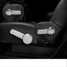 lsrtw2017 abs car seat adjuster trims chrome decoration for jeep wrangler 2011 2012 2013 2014 2015 2016 2017 все цены