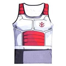 Dragon Ball Z Fitness Compression Prince Vegeta Tank Top
