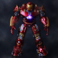 New in Box MARVEL Select The Avengers Iron Man Hulkbuster MK44 16cm PVC Action Figure Toy Doll for kids gift
