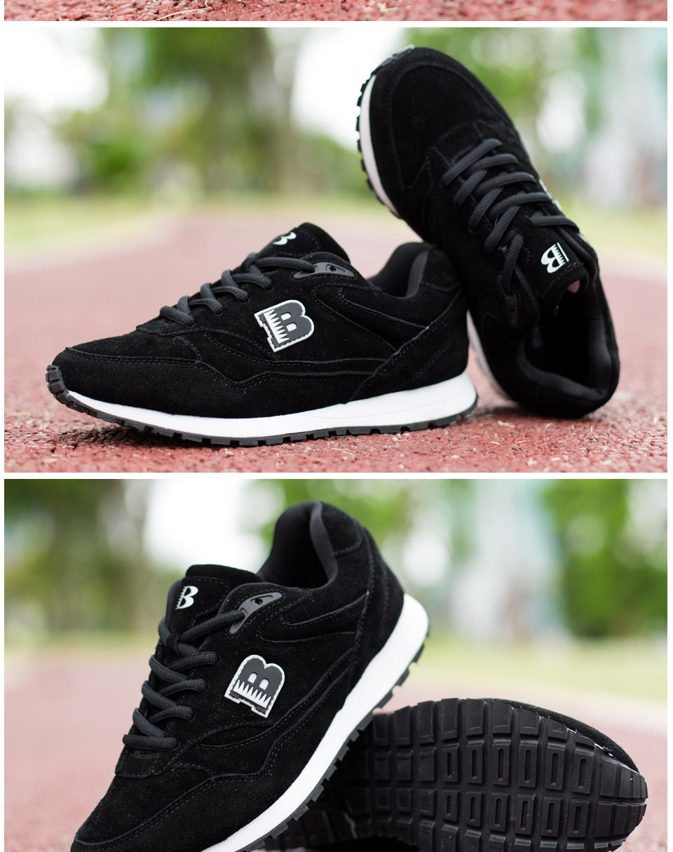 BONA New Popular Style Women Running Shoes Cow Split Breathable Lace Up Sport Shoes Light Soft Outdoor Sneakers Shoes Women