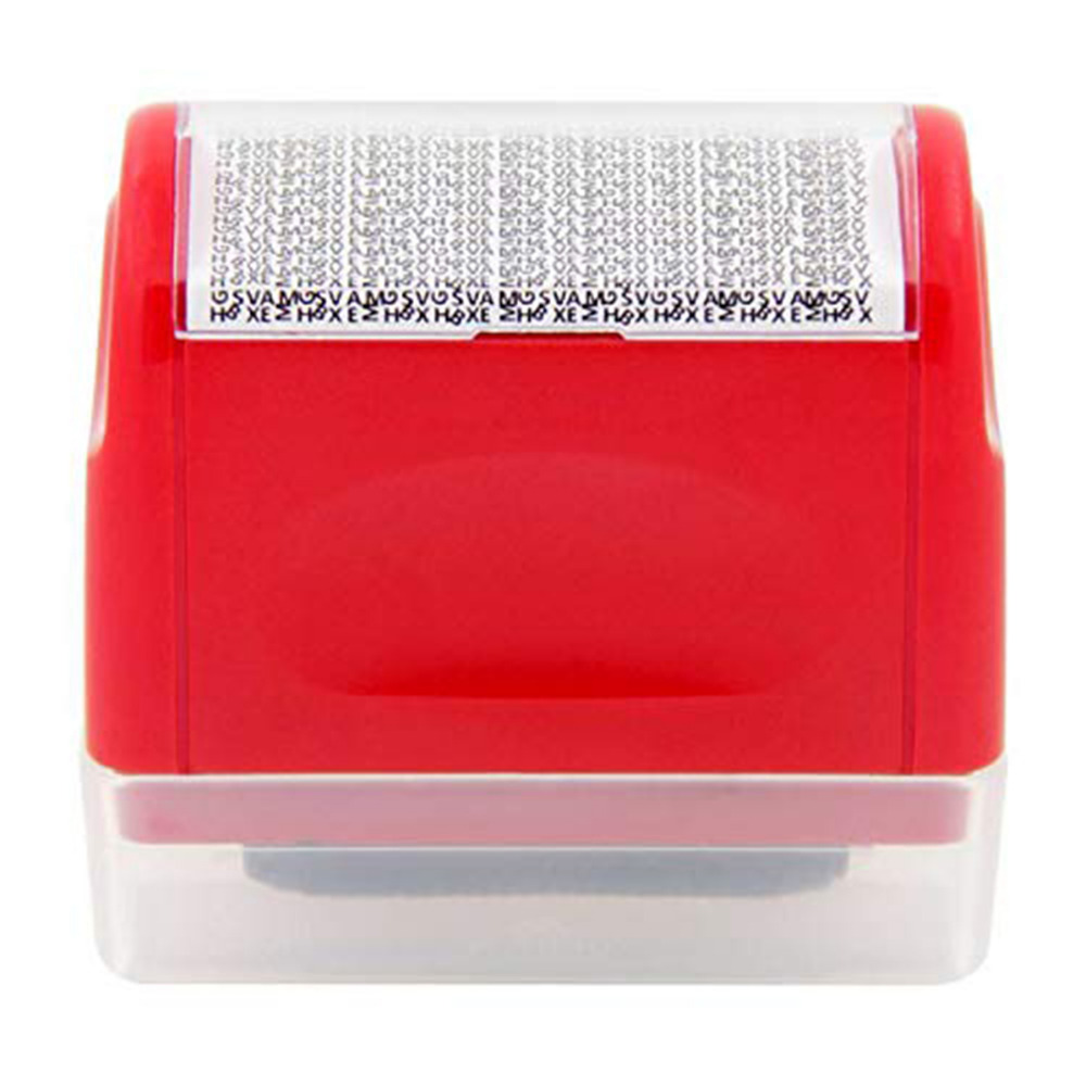 Roller Stamp Security Theft Protect Privacy Office Identity Guard ID Roller Stamp Messy Code Office Accessories 2019