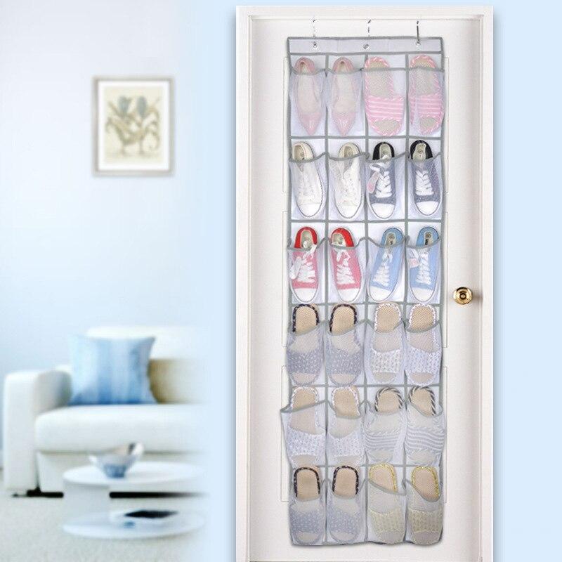 0b00baea9 24 rejilla grande plegable armario colgante bolsas Cavas organizador de  armario de almacenamiento bolso baúl armario Rangement para zapatos Juguetes