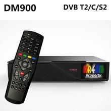 DM900 HD DVB-S2/C/T2 TV Turner dm 900 UHD 4K E2 Linux Receptor 2160p PVR Satellite Receiver 2GB RAM 4GB ROM USB 3.0 Set Top Box
