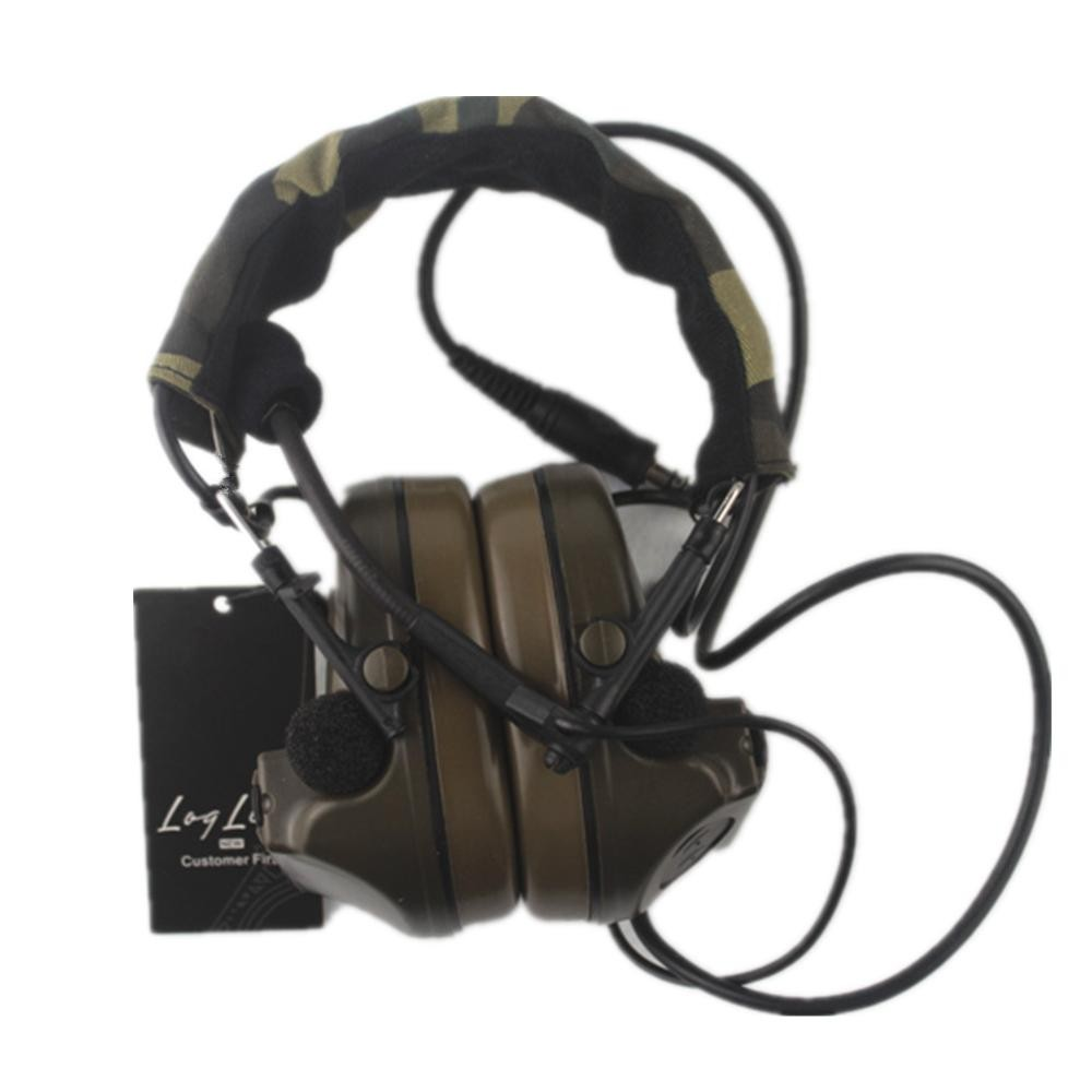 NEW Z Tactical headphone Comtac II Headset 041 military headset headphone tactical radio use z tactical military headset headphone airsoft radio comtac ipsc od for ptt military radio z 111