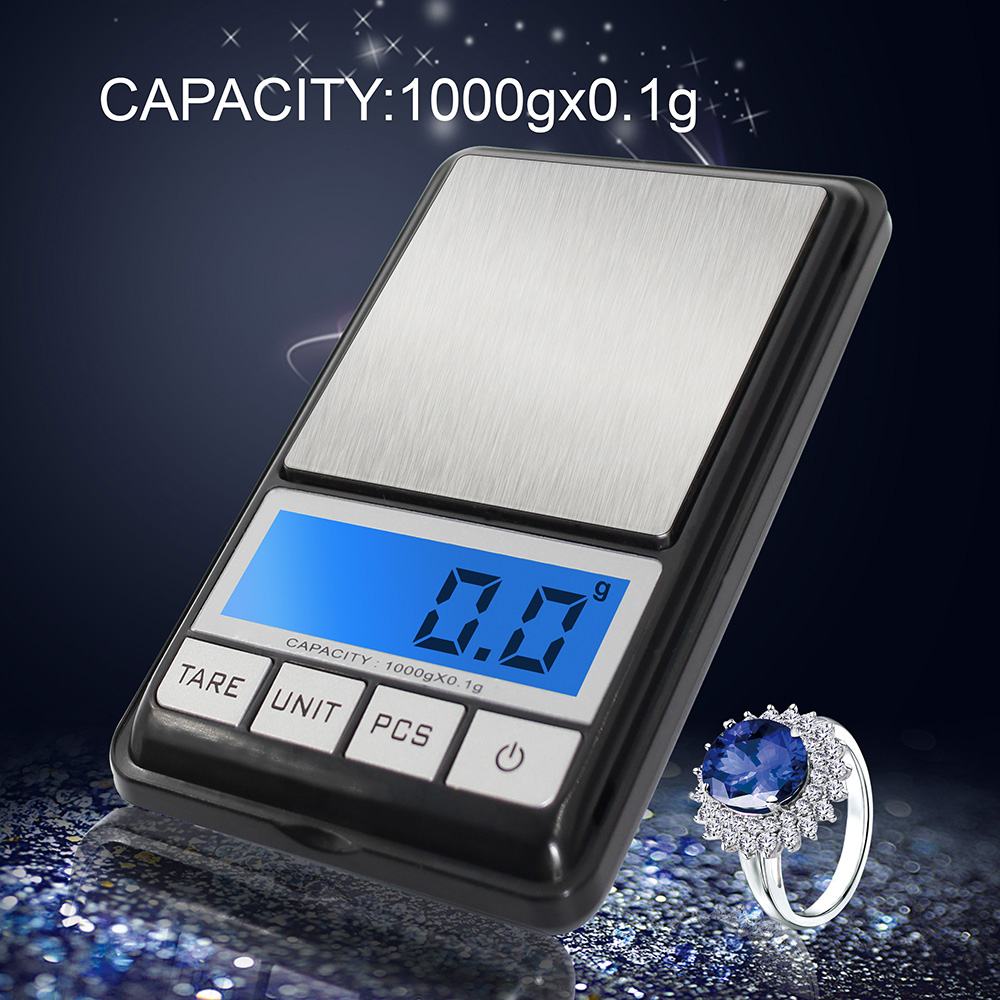 Precision Digital Electronic Pocket Scale High Precision LCD Display Kitchen Scales Balance Scale Jewelry Food Diet Scales