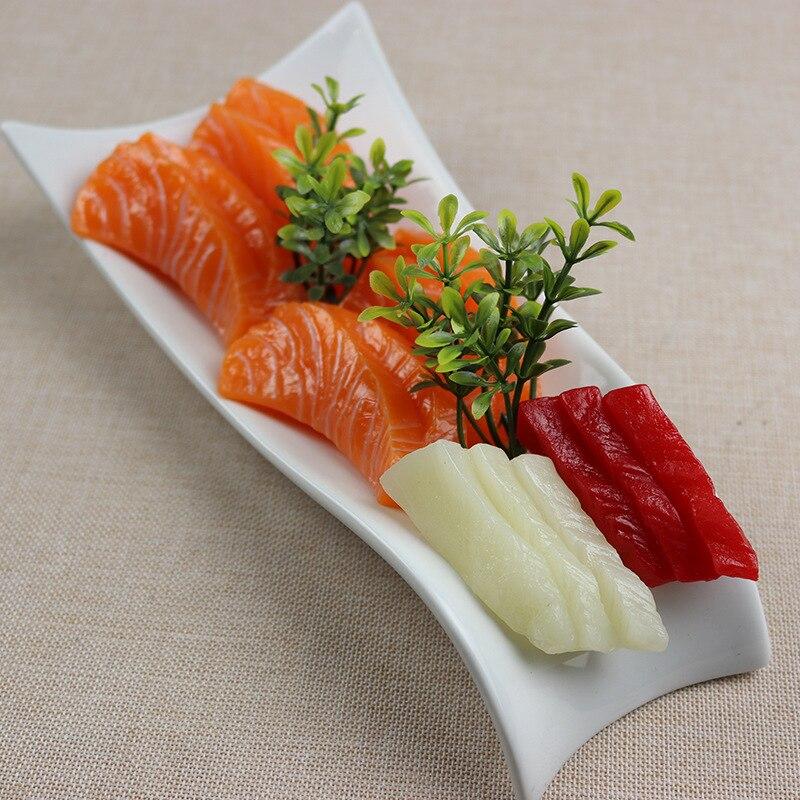 Simulation Japanese Sushi Model Salmon Sushi Food Model High Imitation Sushi Tuna Sushi Simulation Food Restaurant Decoration