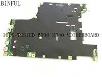 BiNFUL STOCK   NEW MAINBOARD FOR LENOVO B580  /V580c MAINBOARD  HM77. fit core I3 / I5 /I7  LA58 11273-1 55.4YA01.001