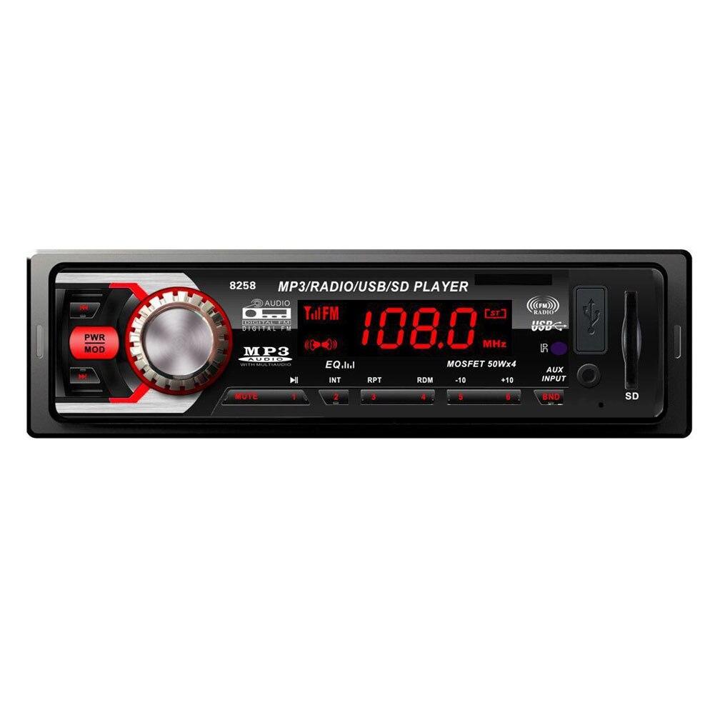 Universal font b Car b font font b Radio b font Stereo Player Bluetooth 1 0