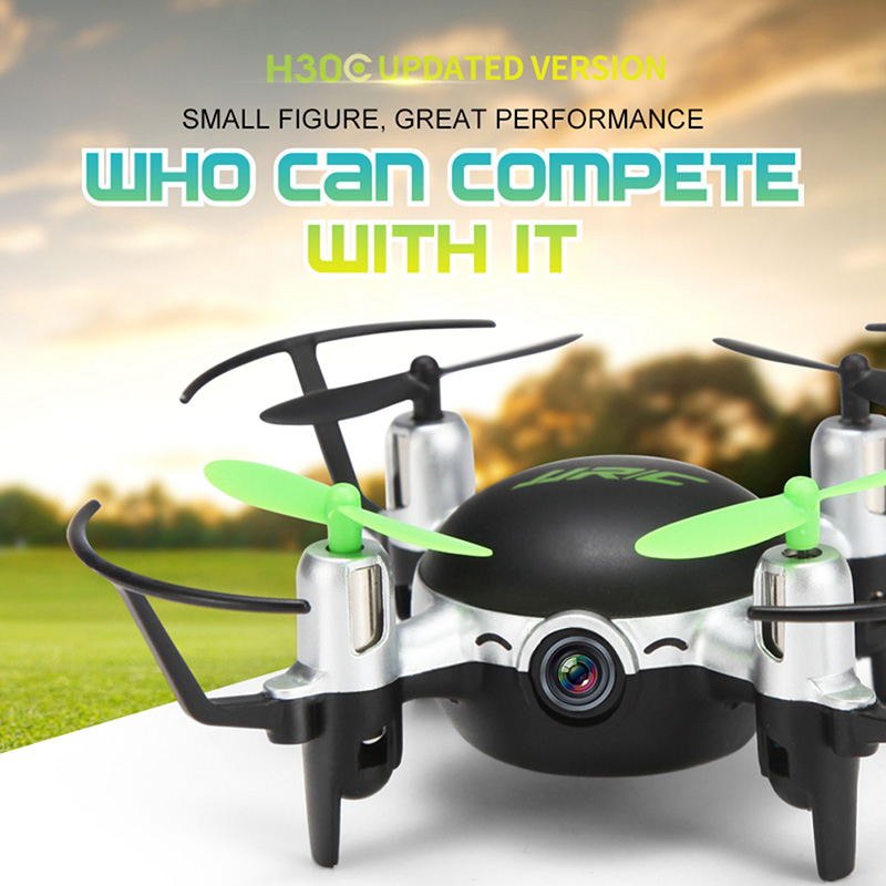 Mini RC Drone JJRC H30CH 2.4GHz 4CH 6 Axis Gyro Quadcopter Headless Mode Drone Flying Helicopter with 2.0MP HD Camera Gifts zk40 with more battery original jjrc h12c drone 6 axis 4ch headless mode one key return rc quadcopter with 5mp camera in stock
