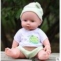 12 Polegadas Mini Completa Realista Boneca de Vinil Bebê Reborn Bonecas Realistas verdadeiro Olhar Do Bebê Brinquedos De Banho Para Crianças Crianças Jogo Do Presente brinquedos