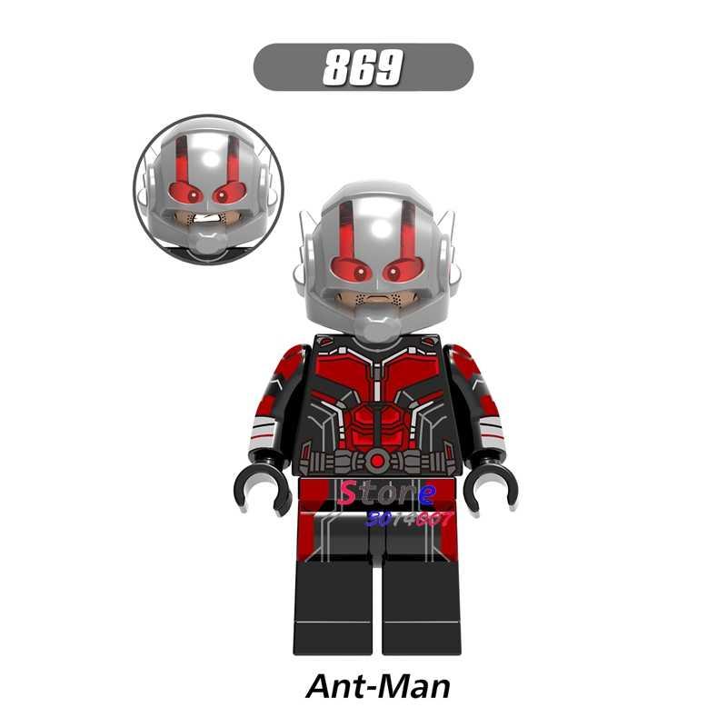 1 шт. модель строительные блоки экшн Супергерои муравей-человек Бесконечность войны Мстители собирают игрушки diy для детей подарок