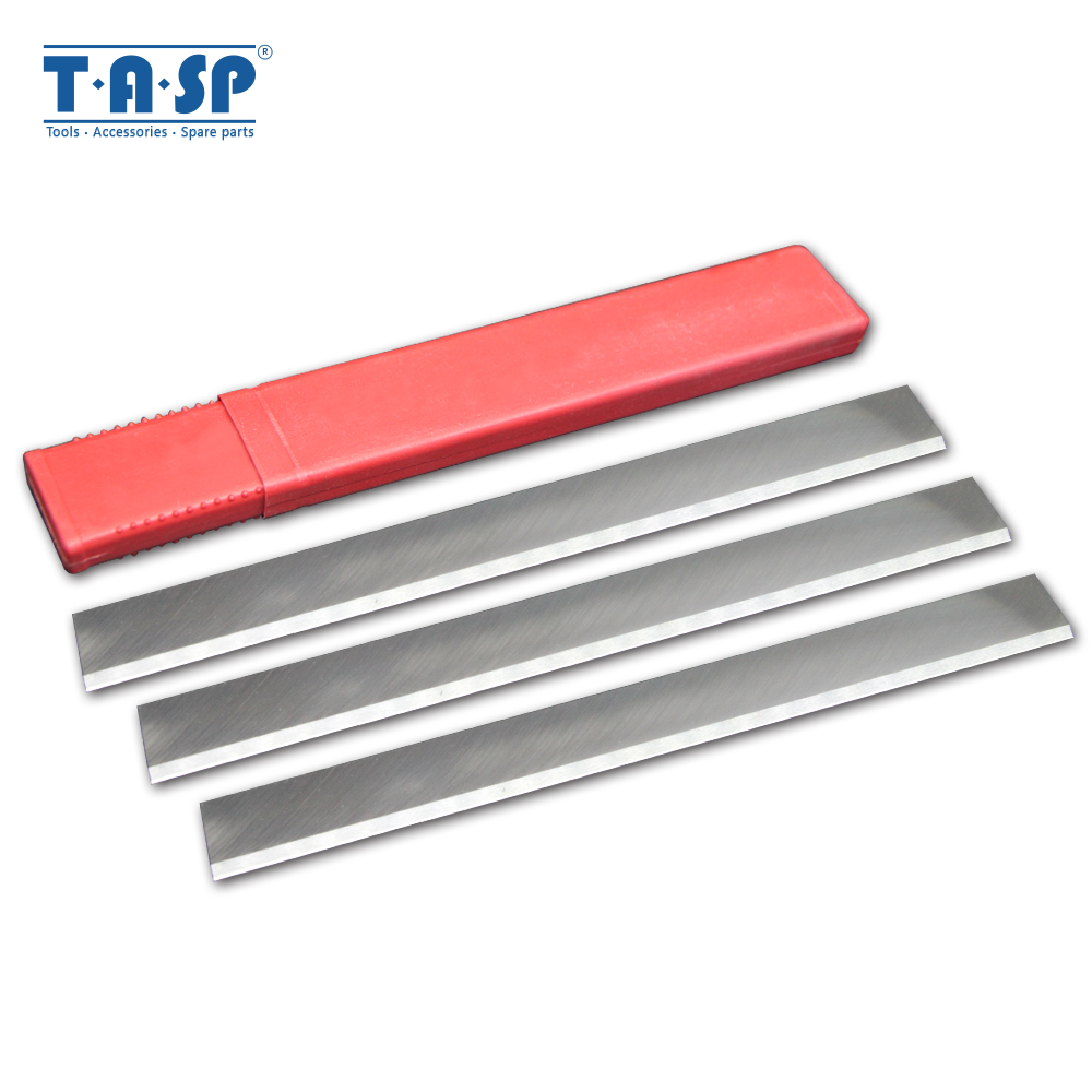 TASP 3pcs 260mm HSS Thicknesser & Planer Blade Jointer Knives 260 X 25 X 3mm Resharpenable For Jet JPT260 JPT-260 Startrite K260