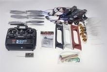 F05114-K F550 Drone Heli FlameWheel Kit With QQ SUPER Control Board ESC Motor Carbon Fiber Propellers + RadioLink 6CH TX RX