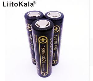 Image 2 - 4 個 100% オリジナルliitokala Lii 35A 3.7v 18650 バッテリー 3500mah 10A放電充電式電池