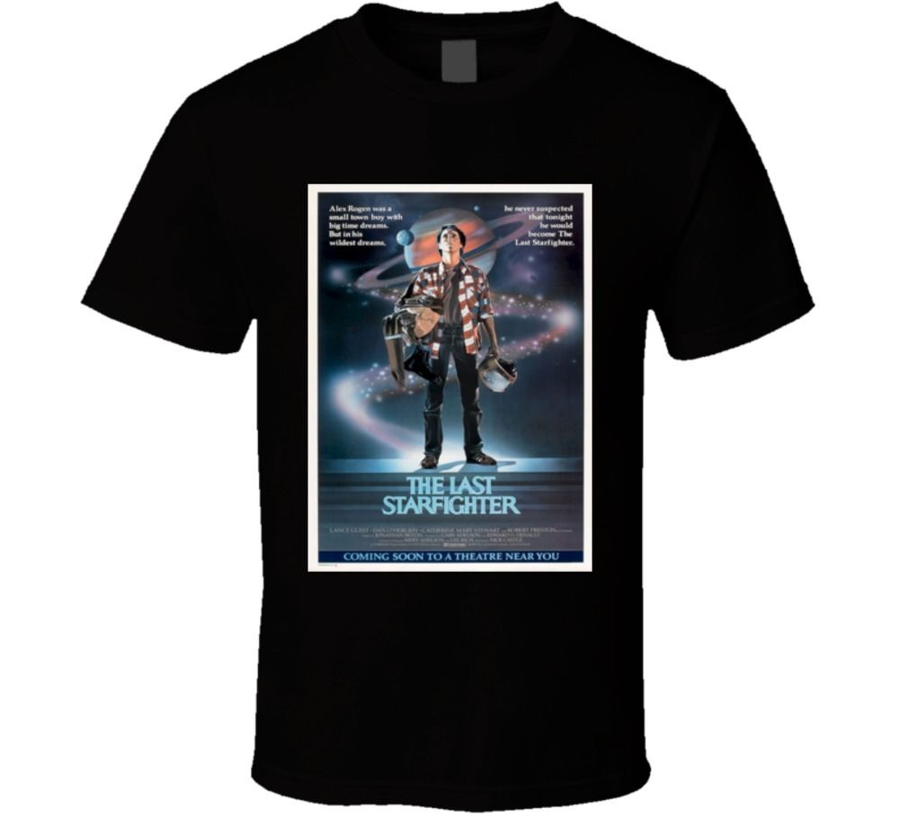 The Last Starfighter 80S Scifi Cult Classic Movie T Shirt